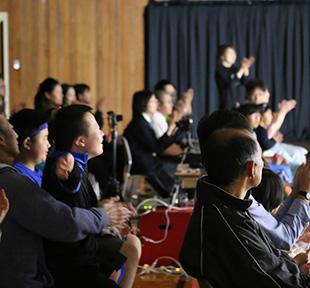 釧路鶴野支援学校と舞踊と映像のコラボレーション