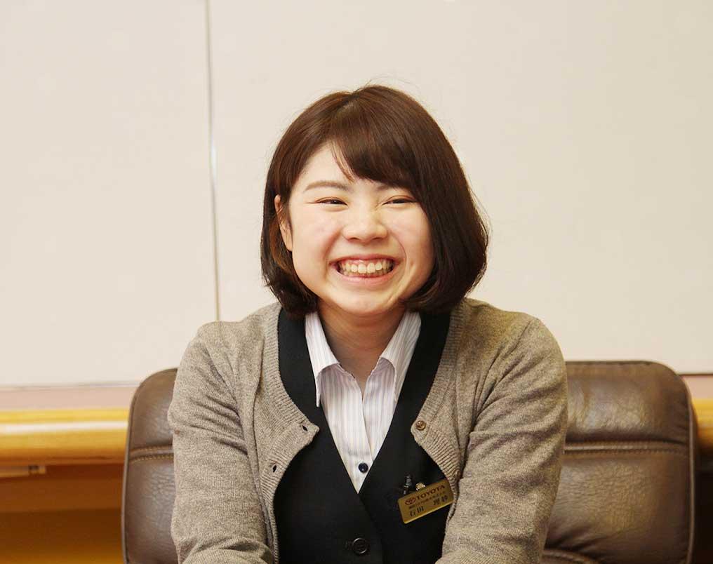 石田 理紗(いしだ りさ)さん