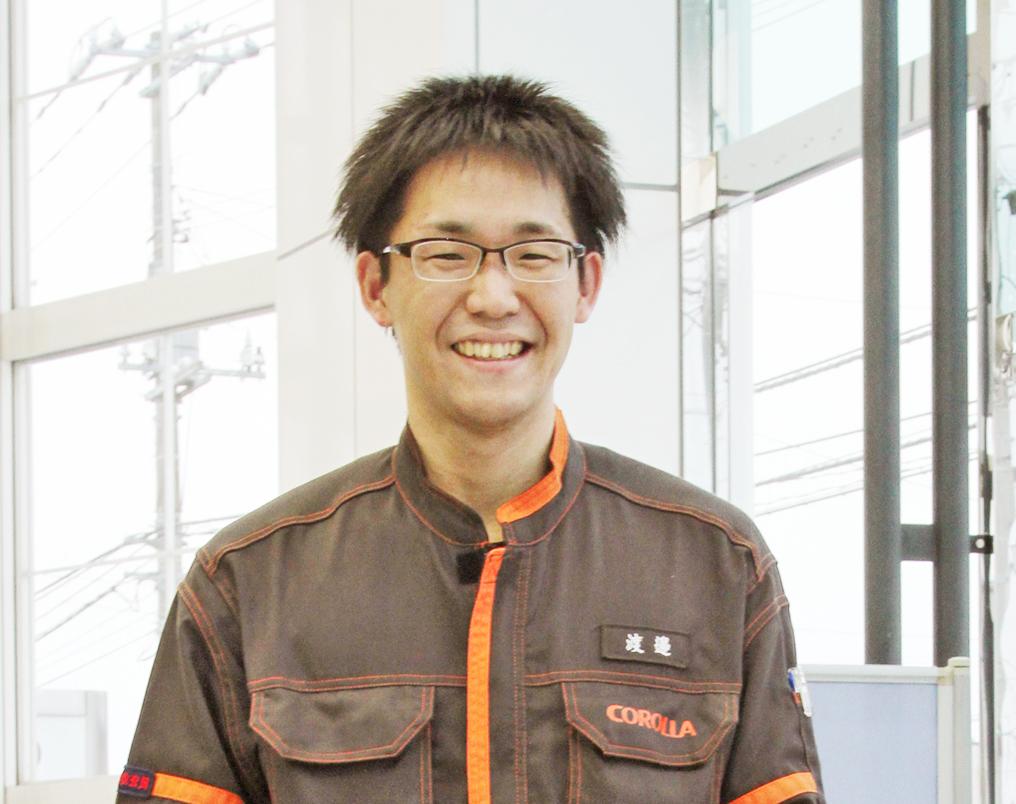 渡邉 勇樹(わたなべ ゆうき)さん